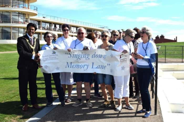 Bexhill dementia action alliance memory walk